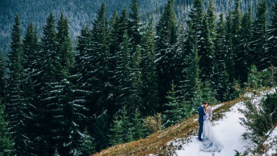 mountain wedding red river