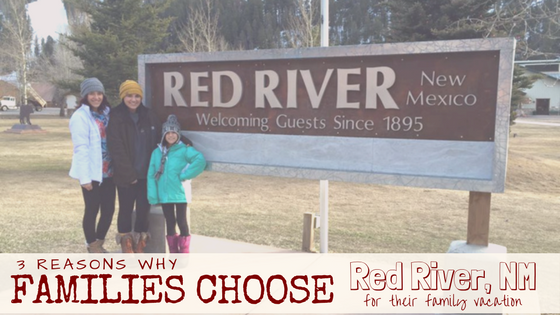 Family Vacationing in Red River New Mexico