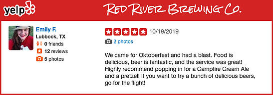 Red River Brewing Company Review
